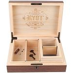 8 x 11 Walnut RYOT Lockable Box with 4 x 7 Sifter