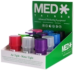 Medtainer Storage Container with Built-In Grinder 12 Ct.