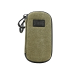 Ryot Slym Case with SmellSafe and Lockable Technology in Olive