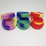 Silicone 5ml Container Assorted Colors 10ct