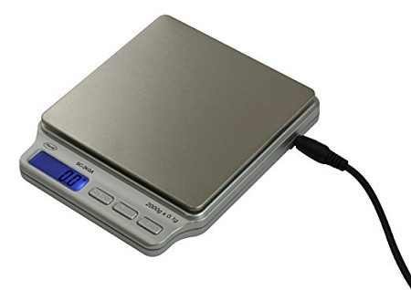 AWS Digital Personal Scale with AC Adapter 2000g x 0.1g