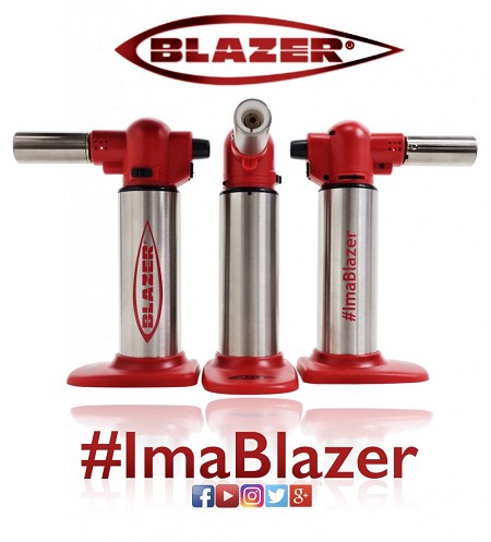 Blazer Big Buddy Torch Red & Stainless Steel