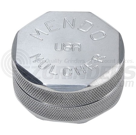 Mendo Mulcher Double Stack Grinder with Grip 2.25 Inch